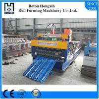 Best Building Roof Tile Making Machine , PLC Control System Tile Forming Machine wholesale