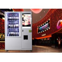 China sparkling Wine champagne beer alcohol spirit  bottle olive oil combo Vending Machine with remote control on sale