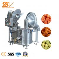 Best Advanced Industrial Popcorn Making Machine Gas Heating And Electromagnetic Heating wholesale