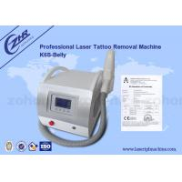 Best Q Switch Nd Yag Laser Tattoo Removal Machine Pigment  / Speckle Removal wholesale