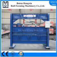 Best 2.5m Heavy Roofing Sheet Bending Machine , Cr12 Cutting Blade Roof Bending Machine wholesale