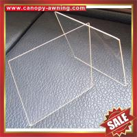 Best excellent solid PC polycarbonate sheet sheeting plate board panel for roof and decoration wholesale