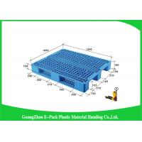 China Higah Load Capacity Industrial Plastic Pallets , Stackable Recycled Plastic Pallets on sale