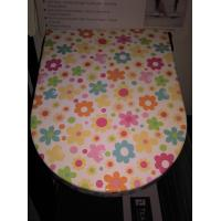 Best printed duroplast toilet seat covers flower drawing wc seats wholesale