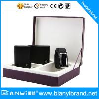 China High quality beautiful new design wallet gift set on sale