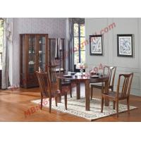 Best Can Folding and Opening Dining table in Solid Wooden Dining Room Set wholesale