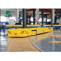 Best 7 Ton Machinery Plant Workpiece Handling S Type Rail Turning Electric Transfer Trolleys wholesale