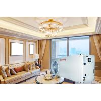 China Efficient EVI Safe Air To Water Heat Pump Double Threaded Copper Tube Heat Exchanger on sale