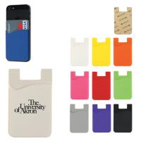 Best cheap custom smart phone stand 3m sticky silicone smart card wallet,silicone phone pouch wholesale