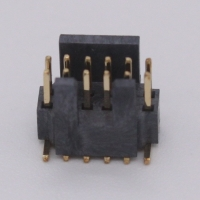 Best 1.27mm pitch Shrouded Box Header, board to board connector replace to Samtec FTSH series wholesale