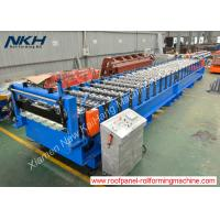 Best Popular Roof Panel Roll Forming MachinePLC Control With 1450 mm Input Width wholesale