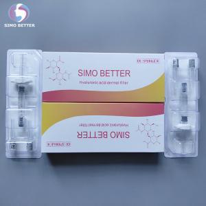 Best Cross Linked Face Beauty Filler Hyaluronic Acid Dermal Filler 2.0ml , CE Approved wholesale