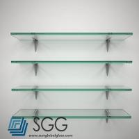 China tempered glass factory clear shelf glass price 6mm 8mm 10mm 12mm 15mm 19mm on sale