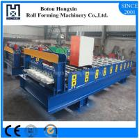 Best Custom Length Roof Automatic Roll Forming Machine 1000mm Plate Effective Width wholesale