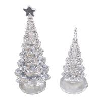 China The Glowing Christmas tree Acrylic Decoration on sale