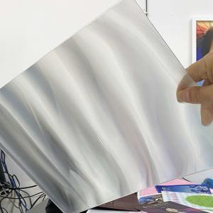 Best 2021 HOT SALE 3D Lenticular Sheet Lens 51X71CM Lenticular Material 75/100/161/200 Lpi 3D Film Lenticular Lens Sheet wholesale