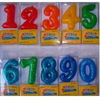 China number candle wholesale manufacturer on sale