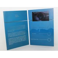 Best 5 silver printing Video Brochure Card , fair display lcd video business cards wholesale