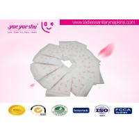 Cheap Regular Daily Use Disposable Sanitary Napkin With Printed Butterfly Pattern for sale