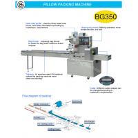 Best Full stainless steel 304 sami-automatic packaging flow type aluminum film packing machine  BG-250D wholesale