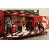 China Metal Premade Container Homes Modular 20ft 40ft Shipping Fast Food Container on sale