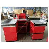 Buy cheap Metallic Material Cashier Checkout Counter With 3 Years Warranty from wholesalers