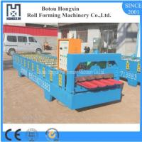 Best Automatic Roof Roll Forming Machine 1000mm Raw Material Width CE Approval wholesale