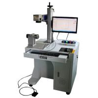 Best Stainless Steel Cylinder Fiber Laser Marking Machine with Rotary Axis AC110V wholesale