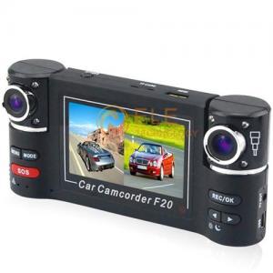 China New F30 2.7 inch Dual lens IR Car Vehicle Dash Dashboard Camera DVR Night Vision Car DVR Driving Record on sale