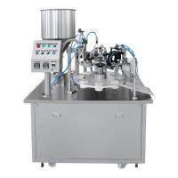 Best Customizable Hand Cream Tube Filling And Sealing Machine , Cosmetic Tube Sealing Machine wholesale