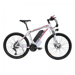 China 48V 350W Electric Snow Bike , Electric Mountain Bike Mtb Aluminum Alloy Frame on sale