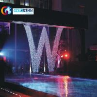 Best Outdoor Programmable Water Wall Graphical Fall Digital Water Curtain wholesale