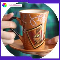 Best Tableware Ceramic Cup And Saucer Colorful Tea Cup And Saucer Gift Set wholesale