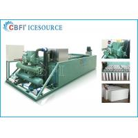 Best Evaporative / Air / Water Cooled Ice Machine , Automatic Ice Machine Large Production wholesale