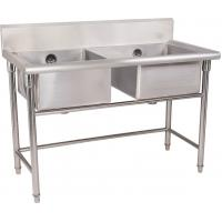China Stainless Steel Double Compartment Sink on sale