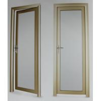 Best Evironment friendly durable aluminum hinged doors with electrophoresis surface treament wholesale