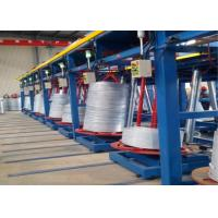 Best Black Iron Wire Hot Dip Galvanizing Equipment , High Speed Continuous Galvanizing Line wholesale
