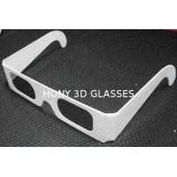 China Disposable Circular Polarized Plastic 3D Glasses For Reald / Masterimage System wholesale