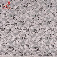 Best Fashion Swiss Lace Fabric 140cm Width / Embroidered Bridal Lace Fabric wholesale