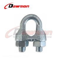 China Din 741 Galv. Malleable Wire Rope Clip on sale