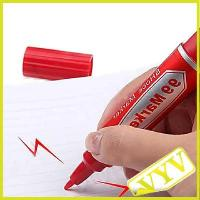 Best 2013 hot sale Electrostatic Marker Pen Shock Trick Gag Toy Practical Joke Prank Gift Red wholesale