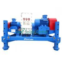 Buy cheap Horizontal Drilling Mud Centrifuge Oilfield Decanter Centrifuge 2900kg Weight from wholesalers