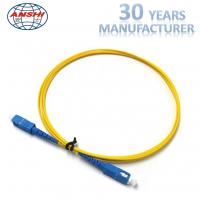 China Simplex Duplex 2.00mm Optical Fiber Patch Cord 0.3dB Insertion Lost ISO9001 on sale