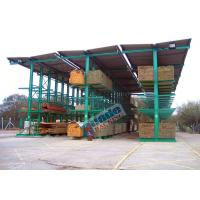 4650 Kg Per Arm Cantilever Steel Storage Racks Rows With Stacker Cranes
