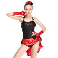 Best MiDee Dance Costume Latin Dress For Women Sweetheart Camisole Sequins wholesale