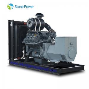 8 Cylinders Low Noise Diesel Generator / AC Three Phase Deutz Generator Set