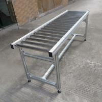 Best Simplify Idler Portable Roller Conveyor , Mini Roller Conveyor Systems wholesale