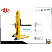 Best 1000kg Hand Pallet Stacker With Single Mast wholesale