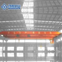 China 5t / 20t Lda Single Girder Overhead Crane Low Noise For Workshop / Storage Houses on sale