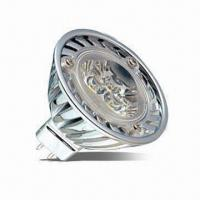 China High-power MR16 LED Bulb, 3 x 1W, 250lm, diameter 50mm on sale